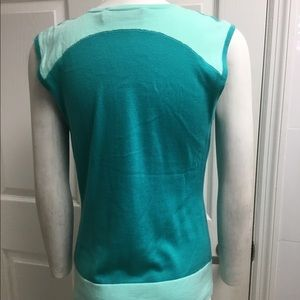 Magaschoni Tops - Magaschoni green cotton knit top size S